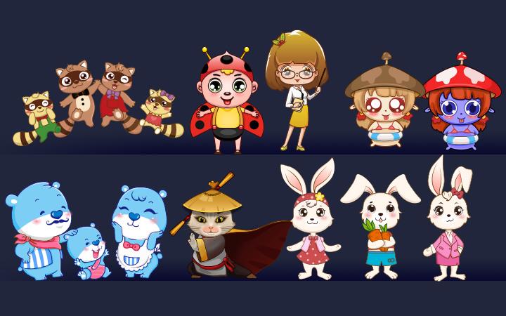 【聚划算】吉祥物设计卡通logo设计/卡通形象设计/Q版