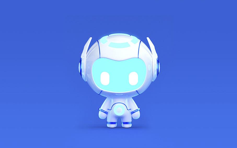 IP吉祥物卡通形象设计企业3D三维公仔角色微信动态表情包制作