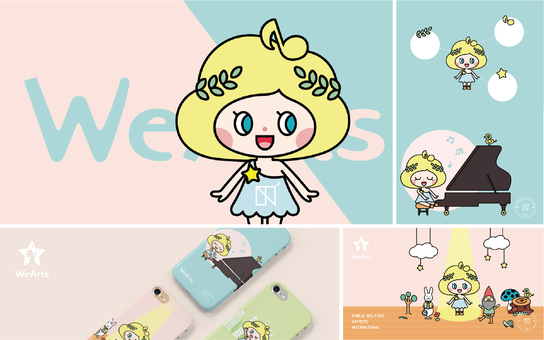 定制卡通形象设计,吉祥物设计,logo,动画模型商业IP形象