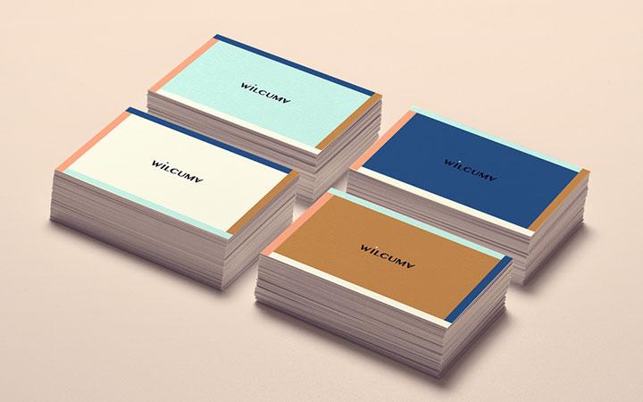 @公司企业高端商务名片卡片定制原创意贺卡优惠券门票购物卡设计