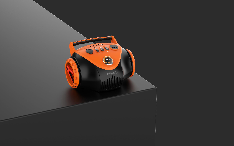 户外多功能供电系统汽车启动能源外观结构设计工业设计产品设计