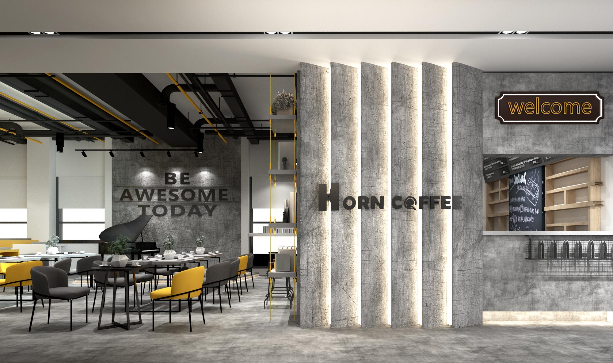 办公室设计公装效果图家装设计店铺设计餐厅设计购物空间酒店设计