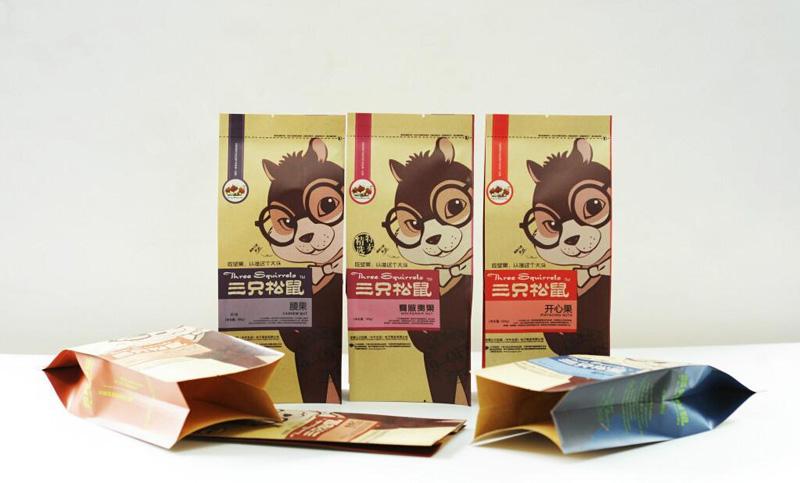 艺点意创---三只松鼠食品包装设计创造新价值