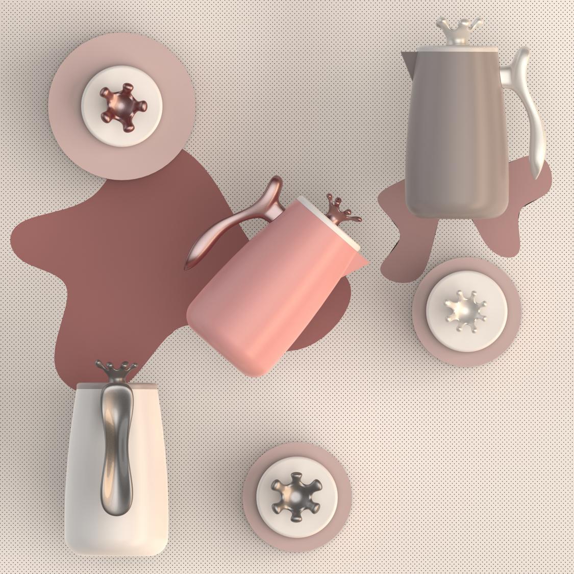 [厨具产品]杯子/壶/玻璃杯/儿童杯外观设计/工业设计/外形