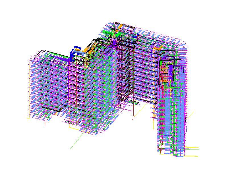 BIM土建、BIM建筑结构建模  BIM机电建模
