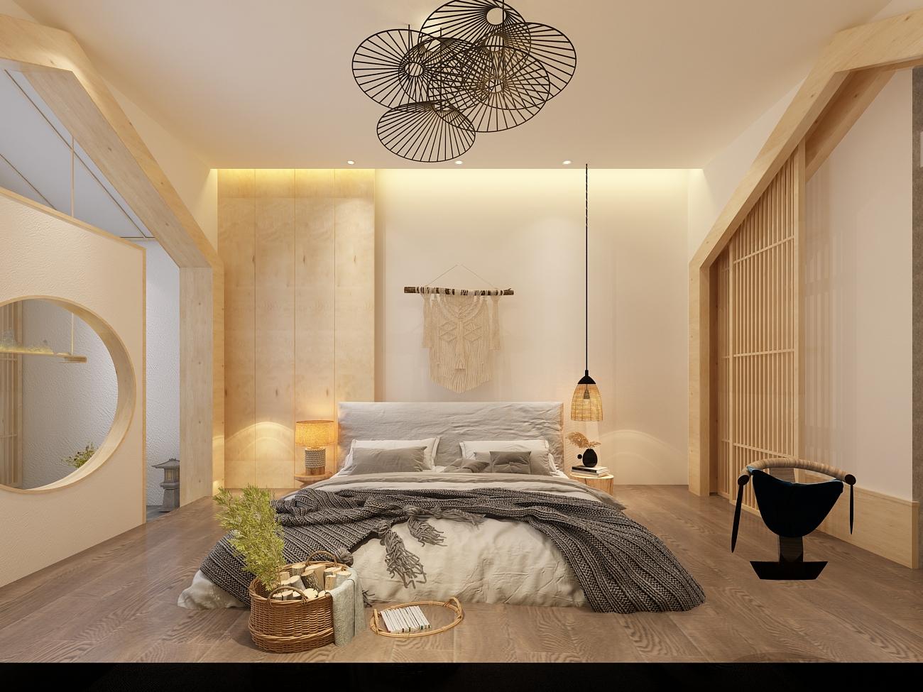民宿亲子客栈装修设计精品酒店四合院主题宾馆室内装修设计效果图