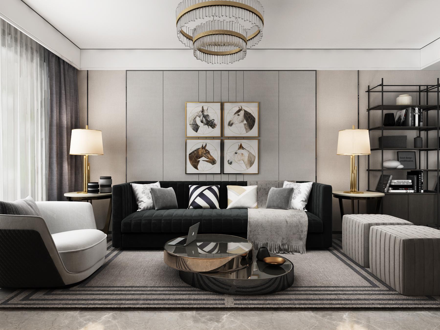 效果图,室内设计新房装修3D效果图,装修设计家装设计民宿设计