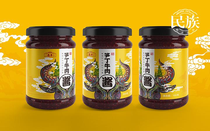 【总监操刀包装设计】包装盒袋瓶贴食品产品酒茶礼品手绘插画设计