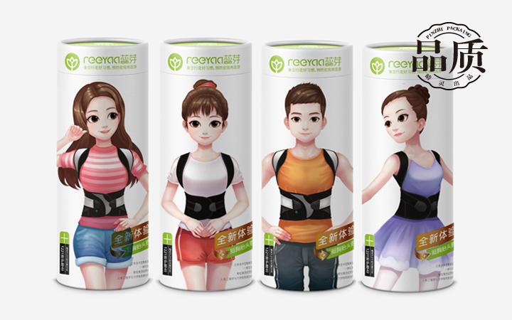 【睛灵品牌】包装盒造型设计包装绵纸设计湿纸巾婴童市场榨菜包装