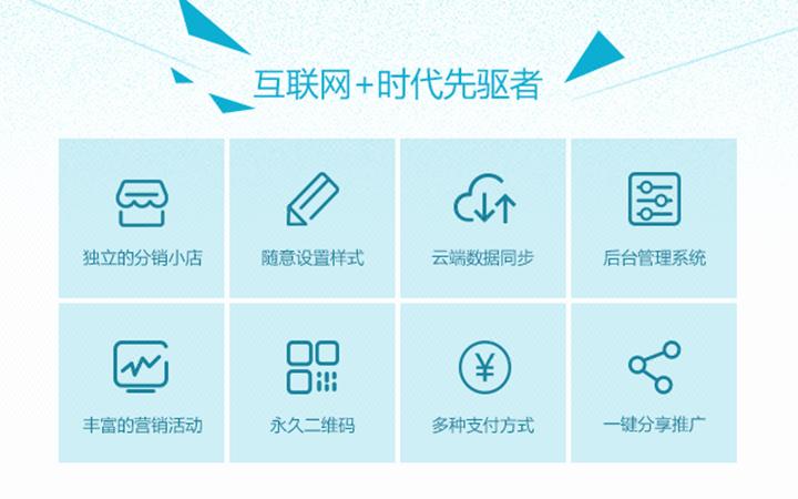 微信三级多级分销购物商城网站APP建设开发模板万人分销制作