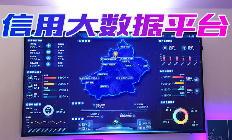 新疆企业信用数据平台