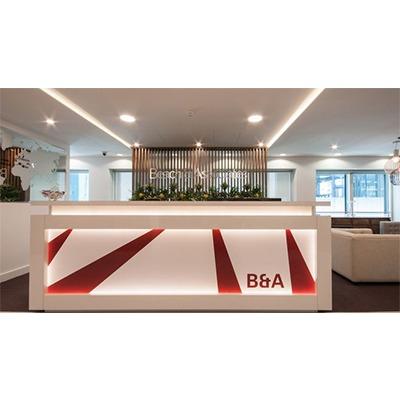办公室设计公装效果图办公前台设计店铺设计餐厅设计购物空间