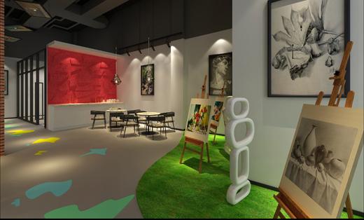 美术培训机构设计-八零画室