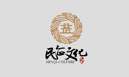 民企文化—传媒行业中国风企业品牌logo设计字体标志商标设计