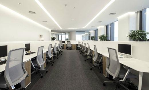 博漫办公空间--简约与高效的美学