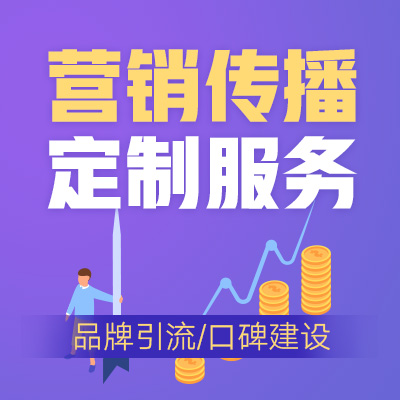 营销传播定制服务(策划/营销推广)