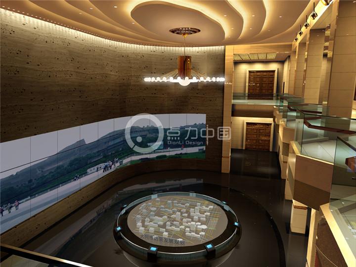 酒店类商业综合体私人会所红酒庄园效果图施工图设计