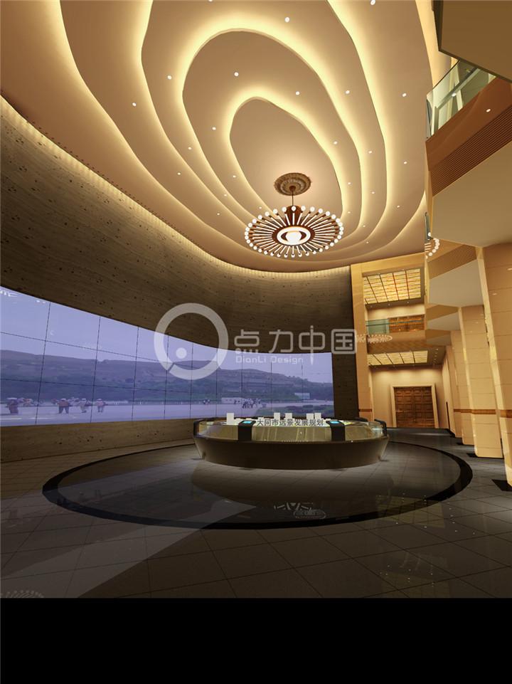 博物馆展览馆展位展台搭建类企业效果图施工图设计