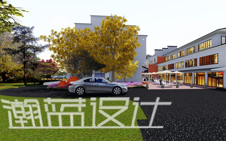 景观整体规划设计、庭院设计、效果图设计、度假村整体设计