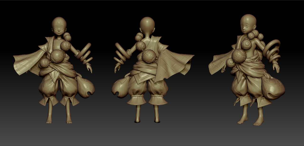 【十年经验】游戏模型吉祥物模型制作美术模型3D建模3Dmax