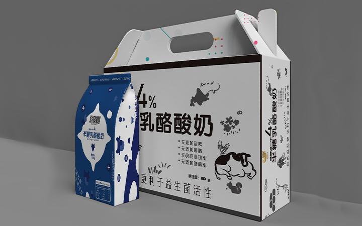 零食百货包装礼盒产品包装设计包装盒设计手绘纯原创包装设计
