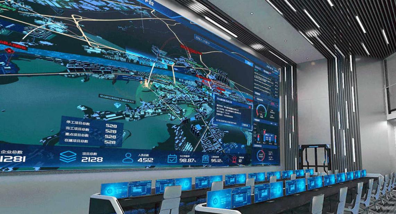 GIS平台在线离线地图软件三维可视化定制开发3D建筑场景模型