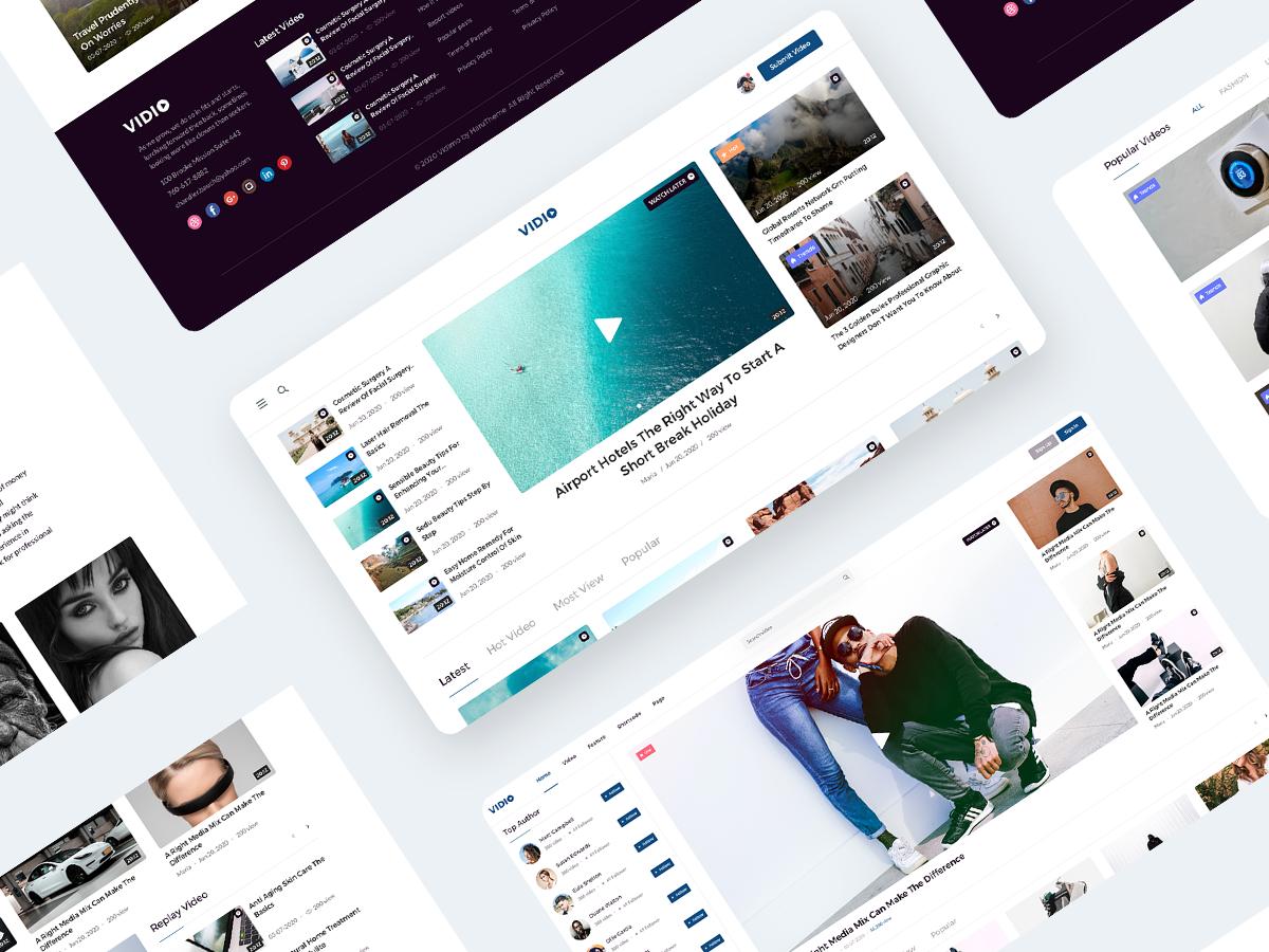 网站UI设计界面设计整站设计美工设计视觉设计PS图片切图美化