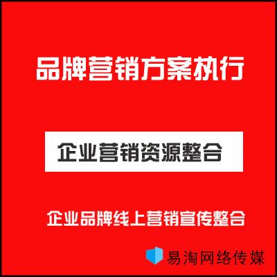 品牌全案策划品牌口碑营销推广网络营销方案官网SEO优化排名