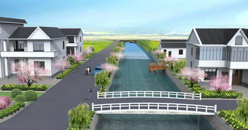 美丽乡村 新农村 规划设计 施工图 效果图