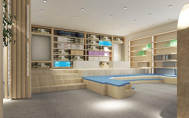 展览展厅设计搭建效果图展厅装修设计党建汽车商场展柜售楼部展厅
