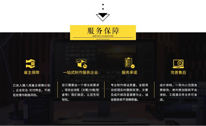 _视频剪辑公司企业宣传形象片制作营销短视频包装特效影视后期配音3