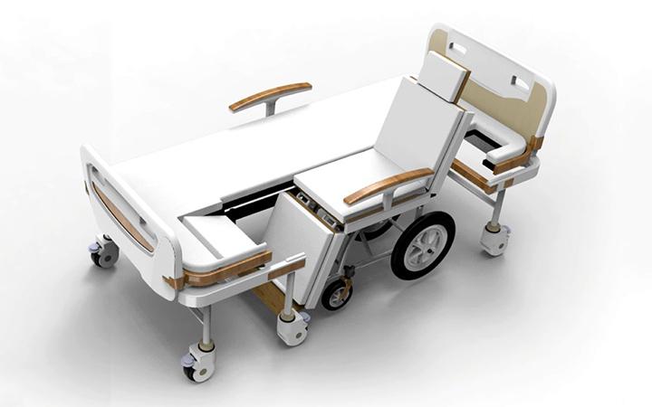 【医疗器械设计】医疗床设计┃轮椅设计┃健身器材设计