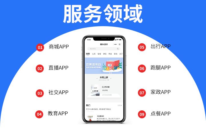app开发/物业/家政/租赁/配送/信息发布/管理系统APP
