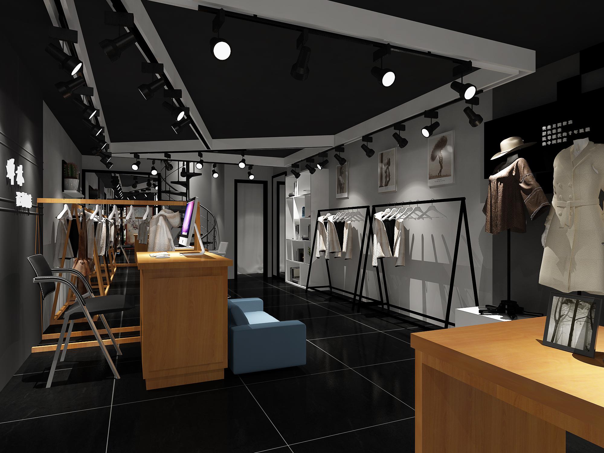 服装店/女装店/男装店/童装店/鞋包店/亲子装店内衣店等设计