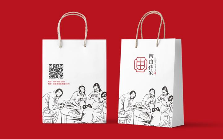 餐饮品牌互联网农业地产教育培训VI系统设计VI定制品导视设计