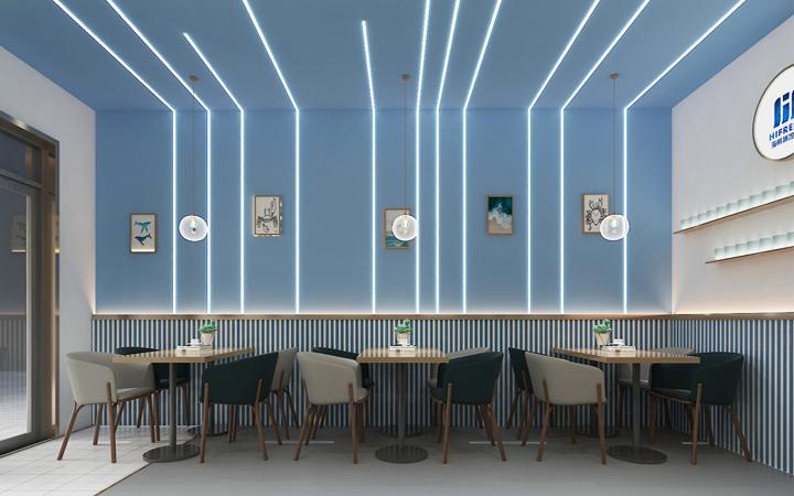 【金墨】公装办公空间si门头展会展厅家庭新房装修服务效果设计