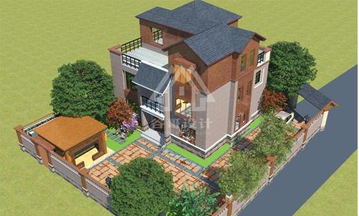 三层自建房设计2