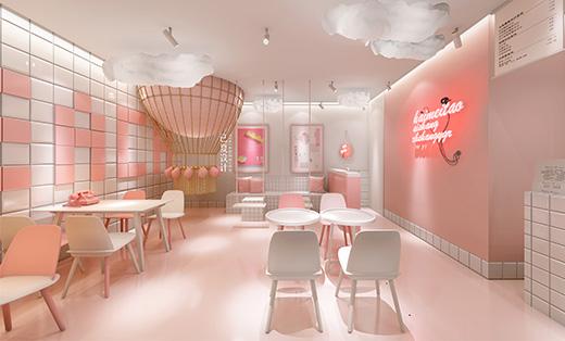 网红饮品店设计