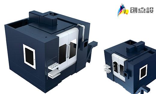 TOM-L1270A(三线轨)外观结构设计