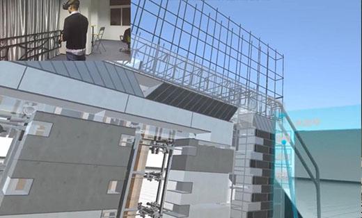 VR建筑bim模型