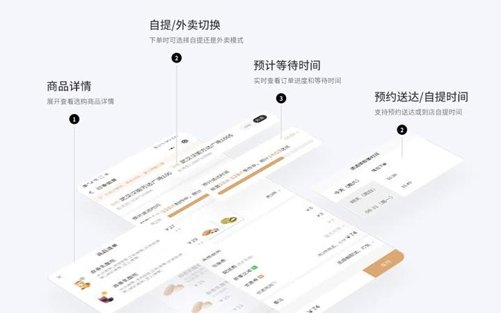 微信餐饮小程序定制开发订餐小程序餐厅小程序公众号开发