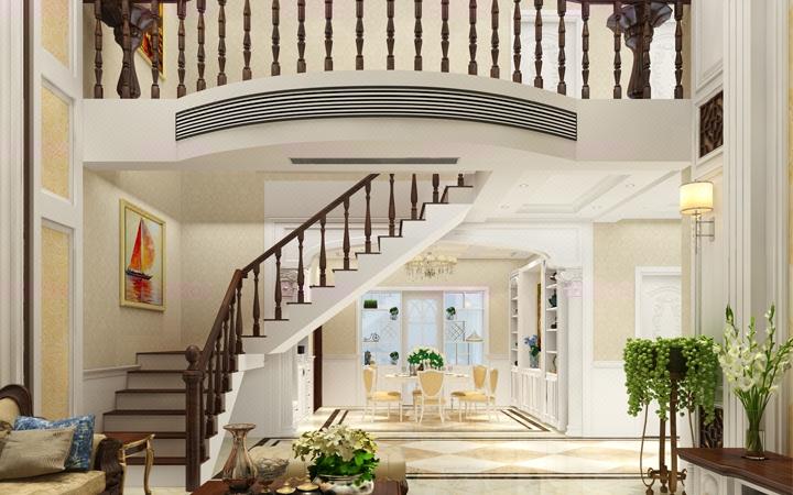 简欧风格室内设计家装设计施工图全套方案效果图
