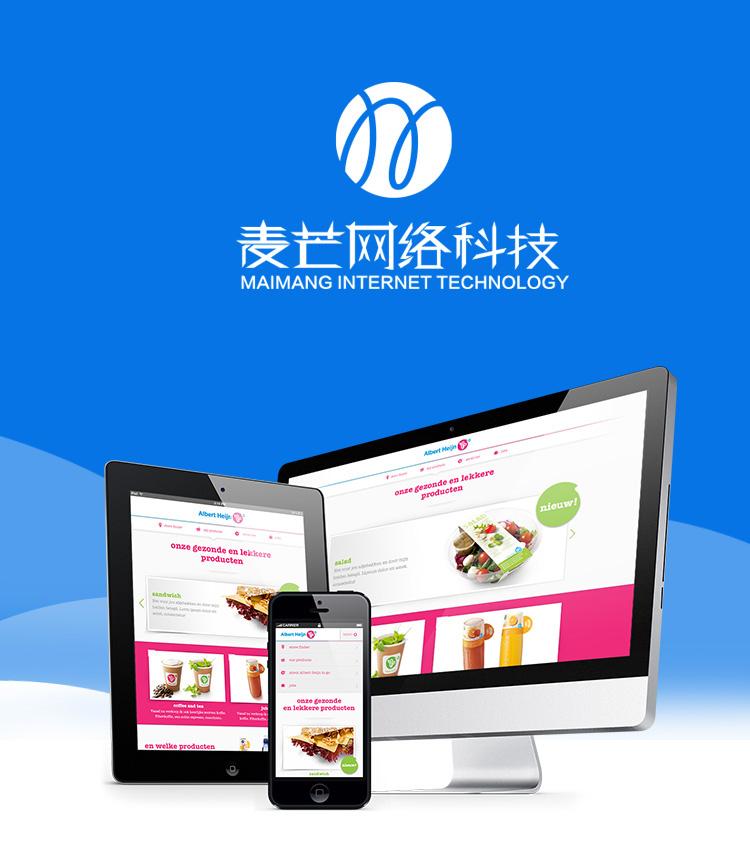 PC+手机版 网站建设企业网站开发定制模板设计建站制作仿站