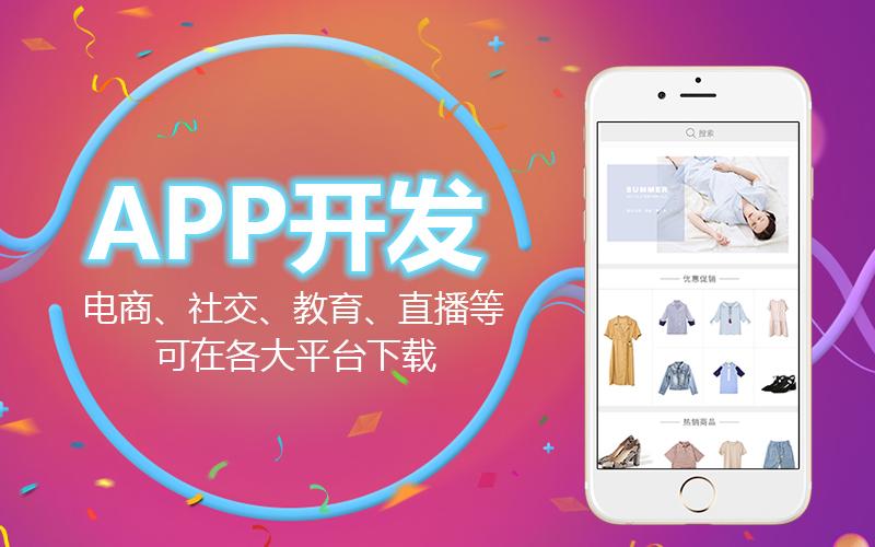 APP开发 购物商城 社交聊天 点餐外卖 APP定制开发
