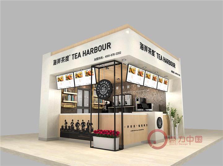 餐饮、装修设计、门头水吧,奶茶店,加盟店,SI设计、连锁店面