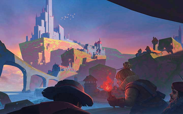 游戏原画人物卡通角色场景插画动漫四格漫画手绘模型道具影视设计