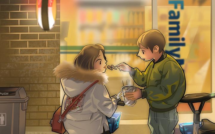 飞碟说动漫企业产品营销宣传商业插画游戏美术原画四格漫画设计