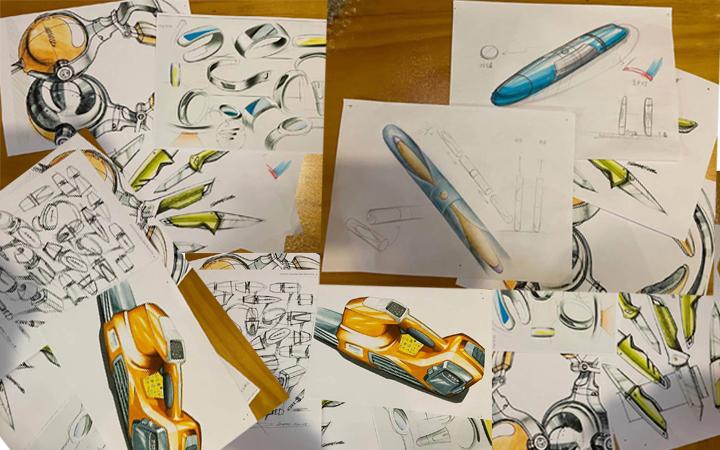 美容产品设计/外观设计/结构设计/造型设计/3D建模/效果图