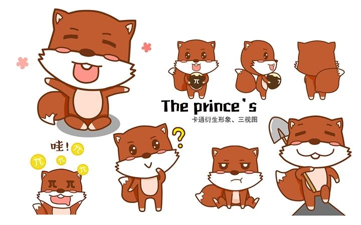 卡通吉祥物设计吉祥物IP形象卡通人物动物设计微信动态表情包