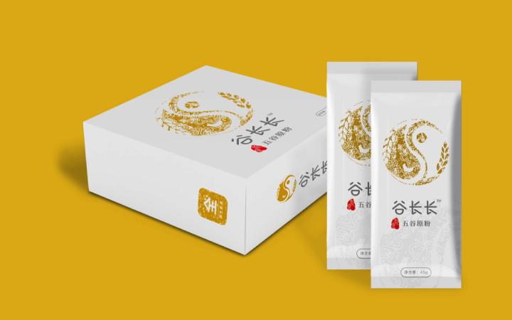 爆款创意包装设计餐饮零食农业副食包装袋设计瓶贴标贴手提袋设计